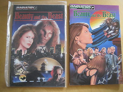 BEAUTY & the BEAST #s 1 (SEALED + GIFT ENCLOSED) & 2. BEAUTIFUL. INNOVATION.1993