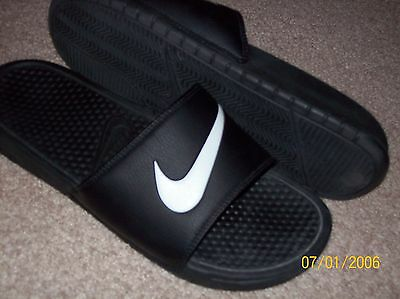 Mens Nike Black Slide  Sandals Size 11