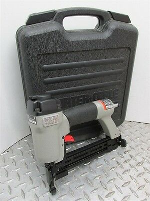 "New Porter Cable Model Ns 100A 1/4"" Narrow Crown Pneumatic Air Stapler"