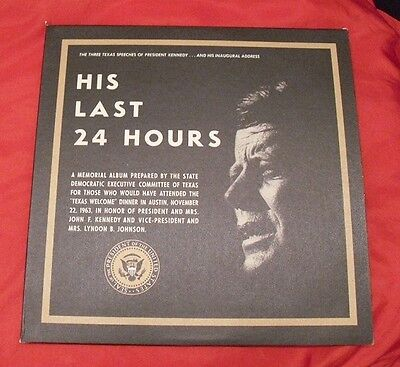 Texas Welcome Dinner Kennedy Assassination - HIs Last 24 Hours