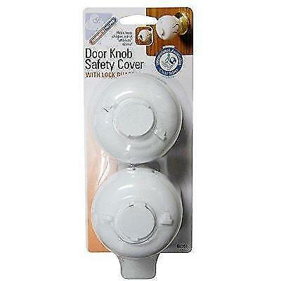 Mommy's Helper Door Knob Safety Cover, 2 Count (Pack of 2) New