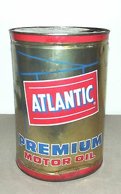 Vintage Atlantic Refining Company Arco 5 Quart Oil Can Sae 20W-40