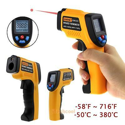 Non-Contact LCD IR Laser Infrared Temperature Measuring Tool Thermometer Gun