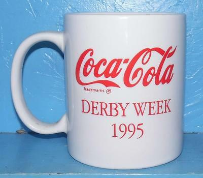 1995 Kentucky Derby Coffee Cup Coca Cola Derby Week