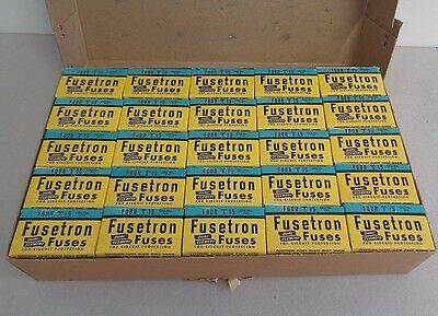 Wholesale Lot of 100 Bussmann Fusetron T15 Dual-Element Fuses 15A New In Box