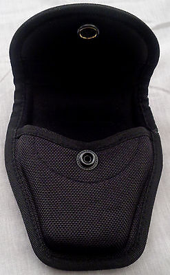 Ballistic Duty Gear Single Standard Handcuff Cuff Case Black Nylon #1050