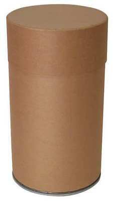 Recycling Container Round, Brown Fiber ZORO SELECT FDCLB87
