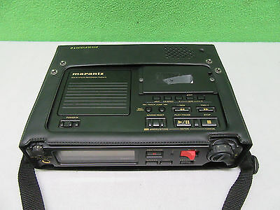 Marantz PMD670/U1B Portable Solid State Recorder w/Strap & Case *Tested Working*