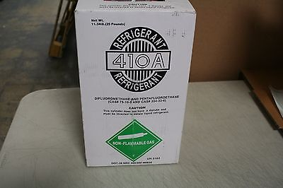 410A Refrigerant 25 Lb tank PICK-UP Only  Non-Flammable Gas New Factory Sealed