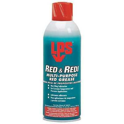 LPS 05816 Red & Redi, Multi Purp Grease, 16oz