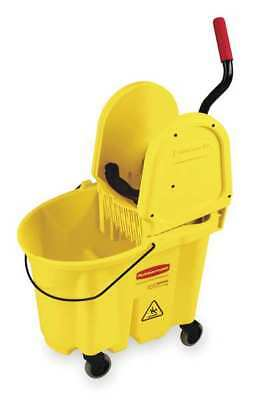 RUBBERMAID FG757788YEL Mop Bucket and Wringer, 35 qt., Yellow