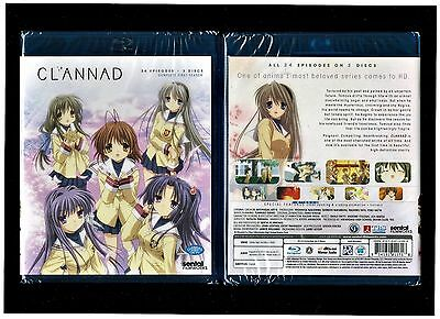 Clannad: Complete Anime Collection ((Brand New 3-Disc Blu-ray Set))
