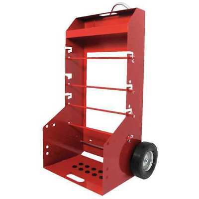Wire Spool Cart,Portable,H 51-3/8 In DAYTON 34D659