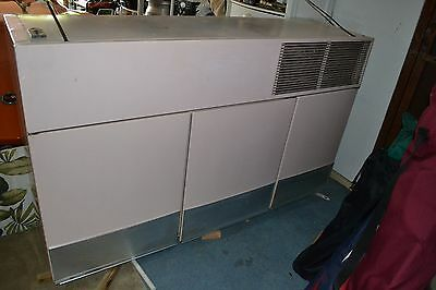 1956 GE General Electric RETRO KITCHEN Appliances PINK Wall Refrigerator