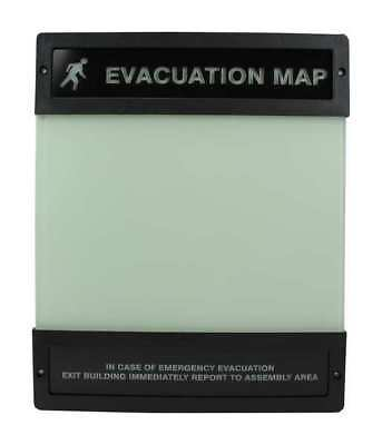 Evacuation Map Holder,8-1/2 in. x 11 in. ACCUFORM DTA240