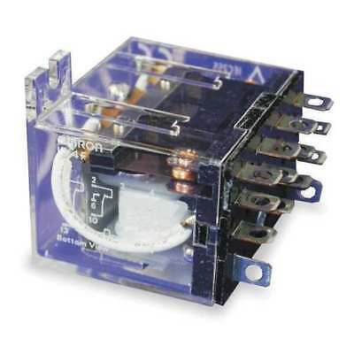 Relay,14Pin,4PDT,5A,24VDC OMRON MY4F-DC24