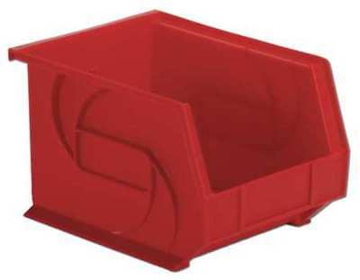 """Red Hang and Stack Bin, 10-3/4""""L x 8-1/4""""W x 7""""H LEWISBINS PB108-7 Red"""