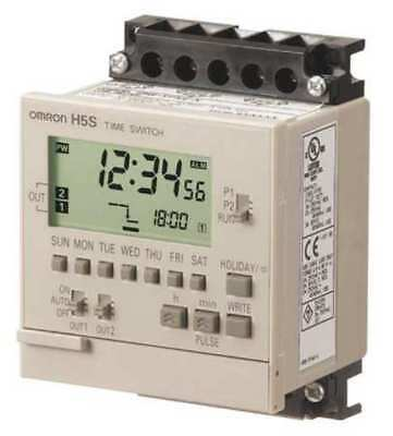 OMRON H5S-WFB2 Electronic Timer, 7 Days, (2) SPST-NO