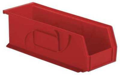 """Red Hang and Stack Bin, 14-3/4""""L x 5-1/2""""W x 5""""H LEWISBINS PB1405-5 Red"""