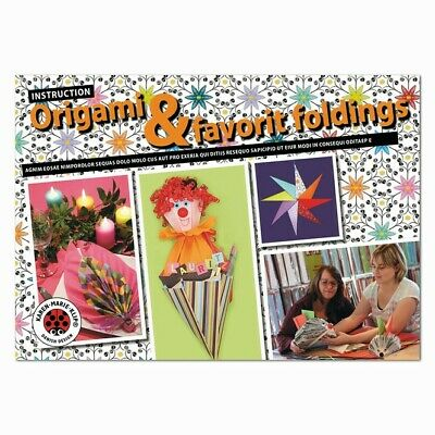 Karen Marie Klip: Origami & Favorit foldings Instructionheft/ Anleitung
