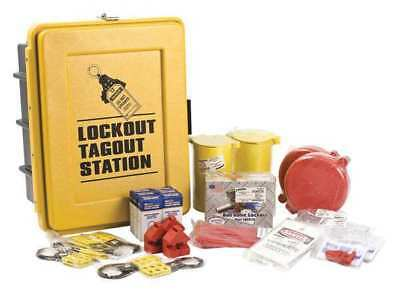 Lockout/Tagout Station,Keyed Differently BRADY LC585E