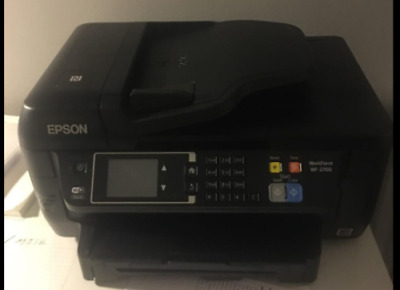 Epson WF-2760 All-in-One Wireless Color Printer with Scanner, Copier, Fax New