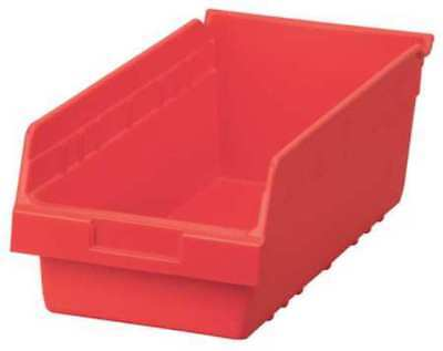Shelf Bin, 17-7/8 In. L,8-3/8 In. W,6 In H AKRO-MILS 30088RED
