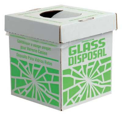 Glass Disposal Container,12 lb,PK6 SP SCIENCEWARE F24653-0002