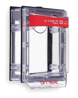 Pull Station Guard,Polycarbonate,Surface