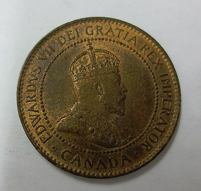 1904 Canada One Cent BU Red Brown