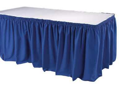 21-1/2 ft. Table Skirt, Royal Blue ,Phoenix, TSKT-21-BL