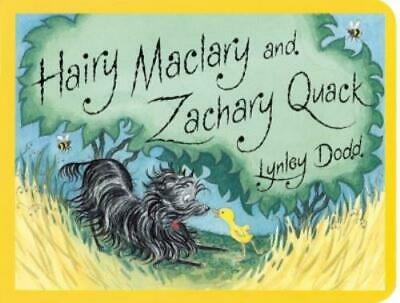 Hairy Maclary and Zachary Quack by Lynley Dodd (Board book) Fast and FREE P & P