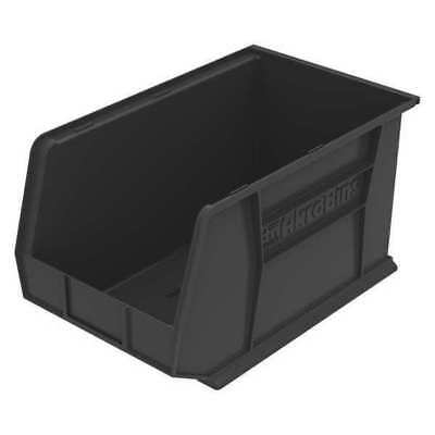 "Black Hang and Stack Bin, 18""L x 11""W x 10""H AKRO-MILS 30260BLACK"