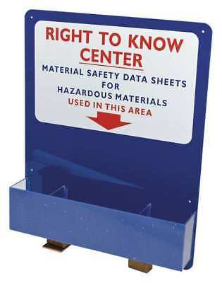 Right to Know Compliance Center,24 In. W BRADY 2012