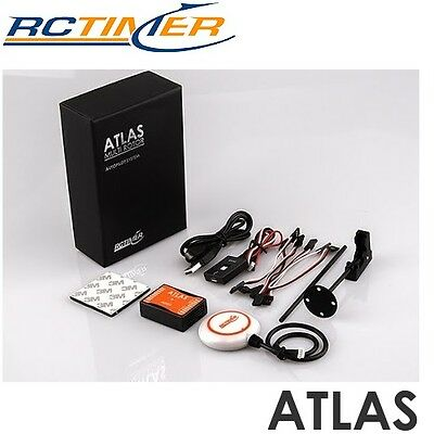 Rctimer ATLAS Flight Control System Included with GPS & LED