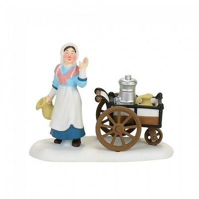 Department 56 Dickens Village 2017 VICTORIAN MILK MAID 4056641 Milkmaids Crock