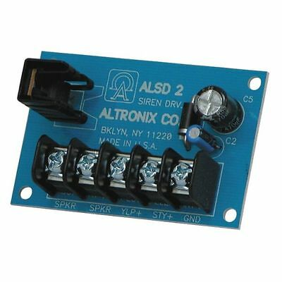 Siren Driver 6-12VDC 2 Ch Low Current ALTRONIX ALSD2