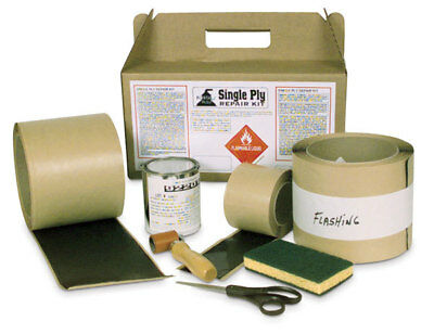 Repair Single Ply EPDM Roofs Roof Repair Kit, Portals Plus, 4YN42