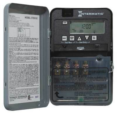 INTERMATIC ET1105CPD82 Electronic Timer,24 hr,SPST