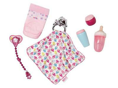 New Zapf Creations Baby Born - High Value Accessories Doll Set 822173