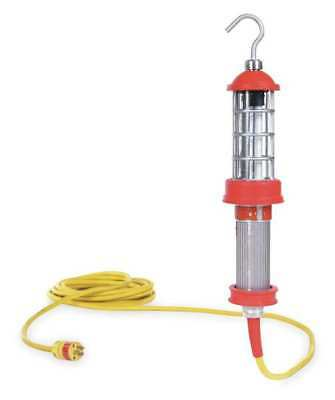 Woodhead Fluorescent Red Hazardous Location Hand Lamp, 1090-HZ12IB163