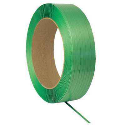 33RZ12 Plastic Strapping, 4000ft L, 0.89mil, Green