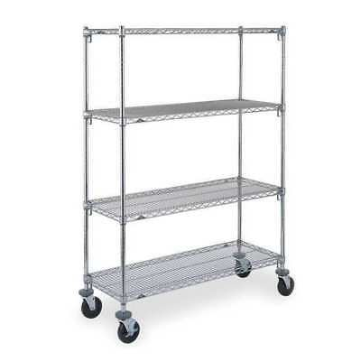 Adjustable Shelf Wire Cart,18 In. W METRO CART 1B