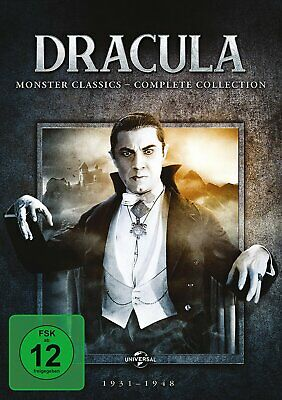 Dracula - Monster Classics / Complete Collection # 6-DVD-BOX-NEU