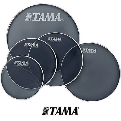 Tama Mesh Fusion Drum Silent Head Skin Pack 10 12 14 14 Snare 22 inch