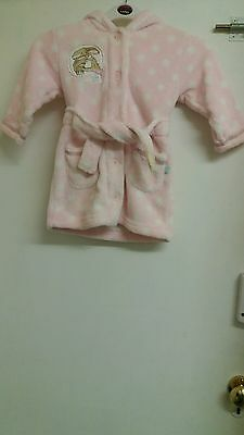 Baby girls dressing gown age 12-18 months