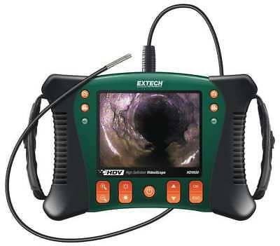 EXTECH HDV610 Video Borescope, 5.7 In, 39 In Shaft
