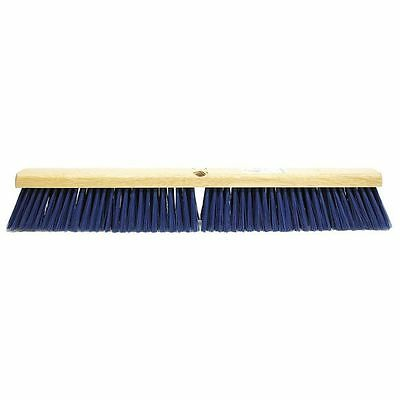 TOUGH GUY 6YTC8 Floor Brush, 24 In, Blue