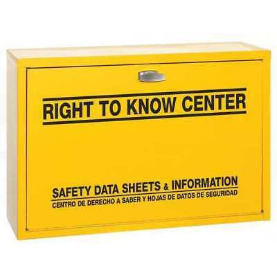 Right-To-Know Cabinet,Hazard Information DISPLAY SPECIALISTS CORPORATION 847