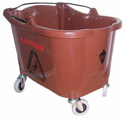 Mop Bucket,8-3/4 gal.,Brown TOUGH GUY 5CJJ4